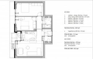 Apartament 3 camere Aviatiei Park - mobilat si utilat