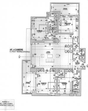 4 camere LUX 217 mp-Dorobanti Capitale Belgrad-Imobil 2006