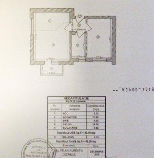 Apartament 2 camere - Prima inchiriere cu parcare - ISG - Monetaria Statului