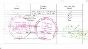 Baneasa - Sisesti - spatiu comercial 370 mpc