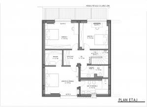 Pipera - Drumul Bisericii - vila P+1 - 232 mpc - 4 camere