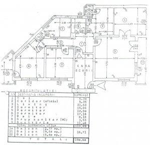 Vanzare apartament 4 camere Aviației - 130 mpc locuibili