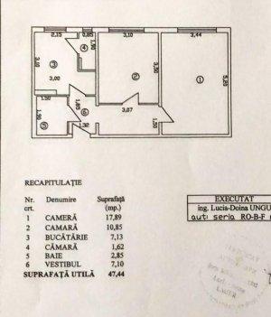 Apartament vânzare - 2 camere - decomandat - Giurgiului