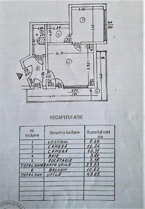 Apartament 2 Camere - Romana