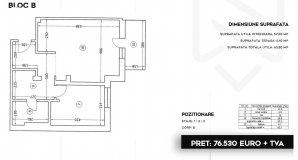 Pipera - Stefanesti - apartament 2 camere 2020 - Comision 0