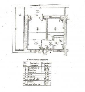 Apartament 2 camere-Complex Rose Garden- Super terasa- Colentina
