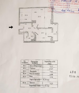 Garsoniera - mobilata/utilata - 42 mp - Oltenitei Park Residence