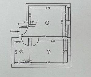Otopeni - 2 Camere - Comision 0 - Demisol