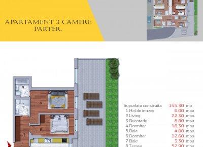 Apartament 3 Camere - 3A1