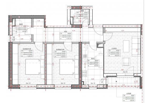 Apartament 3 Camere - C2.1.1B