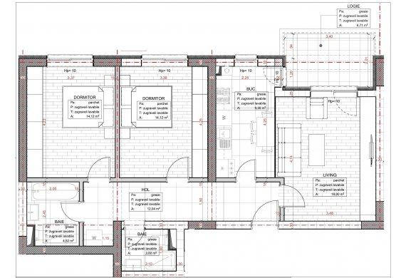 Apartament 3 Camere - C2.1.2C