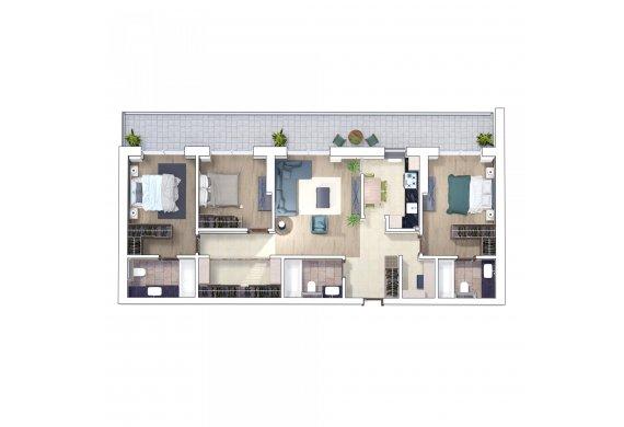 Apartament 4 Camere - 4C