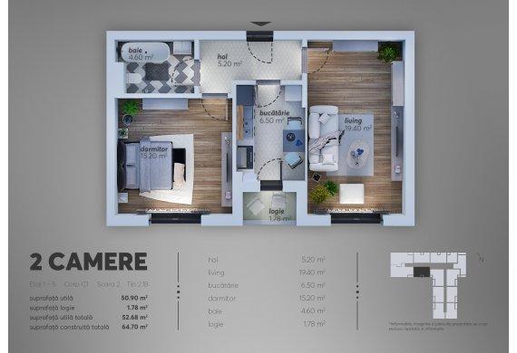 Apartament Studio - 2