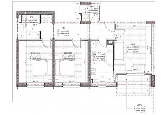 Apartament 3 Camere - C2.1.2D