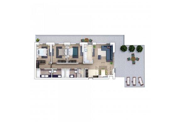 Apartament 4 Camere - 4E