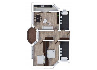 Apartament 3 Camere - Hills Suite - Etaj 1