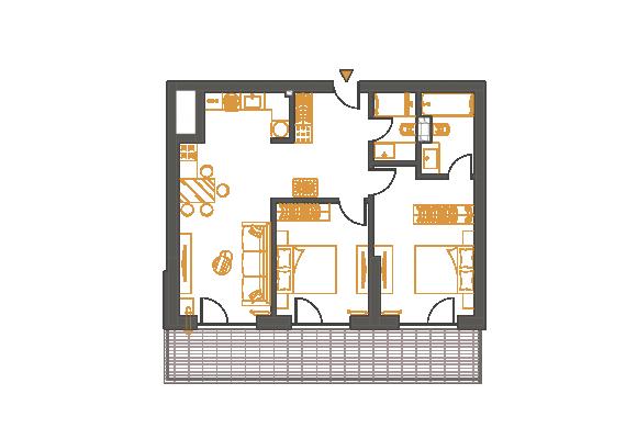 Apartament 3 Camere - 3C3