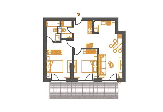 Apartament 3 Camere - 3C4