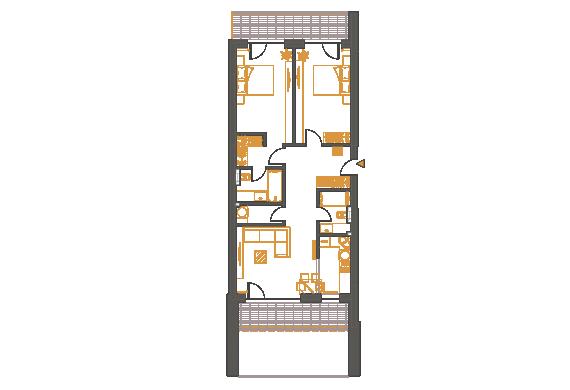 Apartament 3 Camere - 3D1