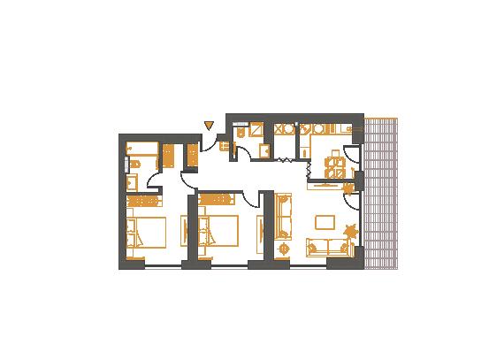 Apartament 3 Camere - 3F2