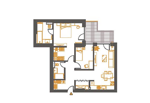 Apartament 3 Camere - 3G1