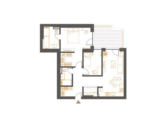 Apartament 3 Camere - 3G1P