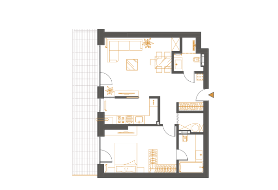 Apartament 2 Camere - 2K1
