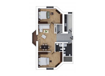 Apartament 3 Camere - Sunset Loft - Etaj 2