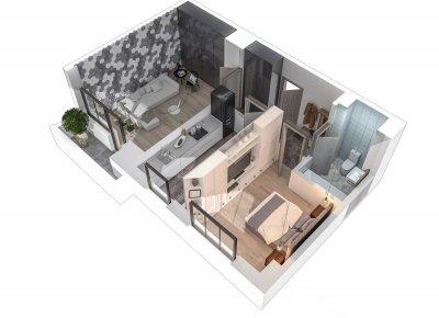 Apartament 2 Camere - 2A Scara 2