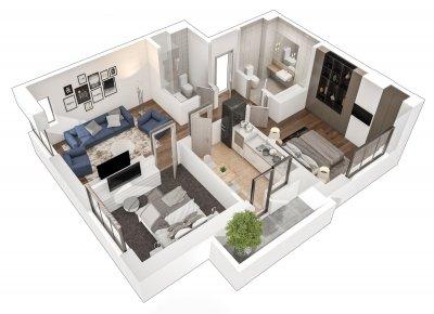 Apartament 3 Camere - 3A Scara 2
