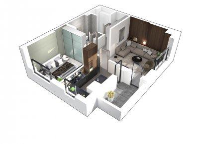 Apartament 2 Camere - 2E Scara 1